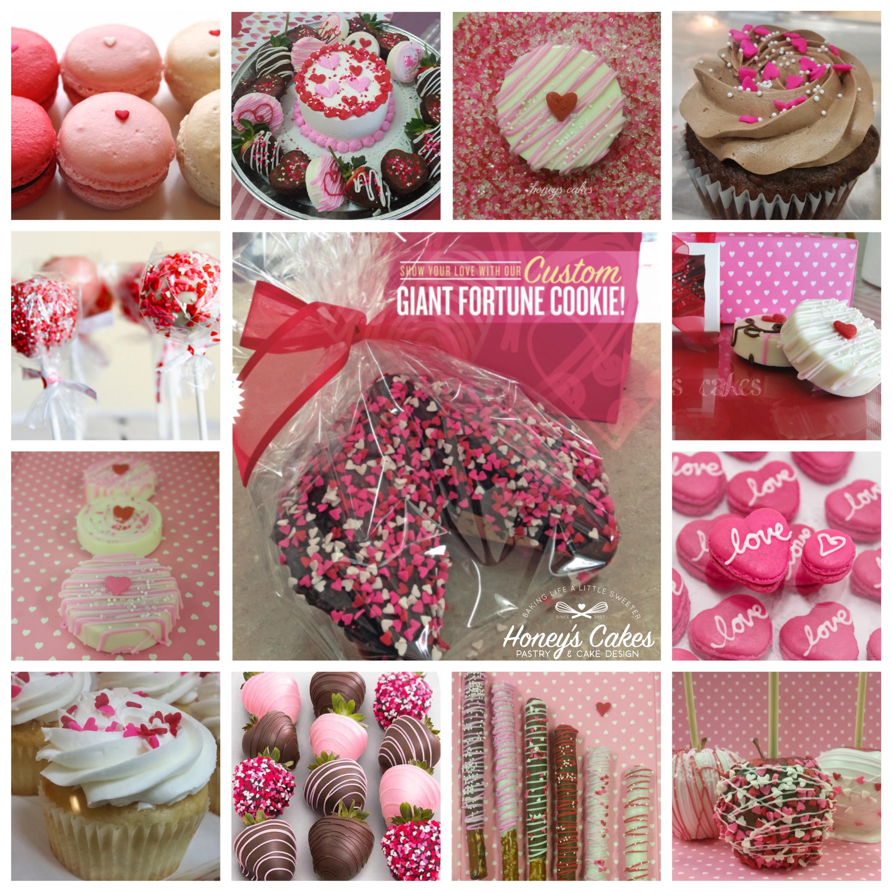 Giant Fortune Cookies | Honey\'s Cakes
